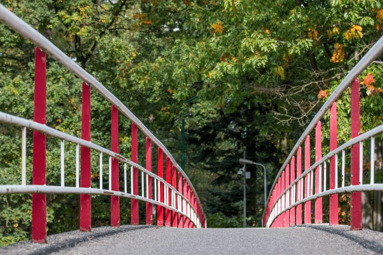 Fietsbrug tussen Centrum Den Dolder en WA-hoeve